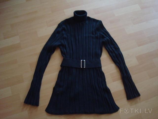 Чёрный свитер Pta, размер Л, длина 76 см - 10,00 Ls