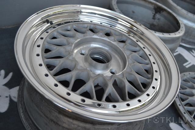 FS: BBS RS 3 piece authentic wheels 001 4x100 15'' rare deep
