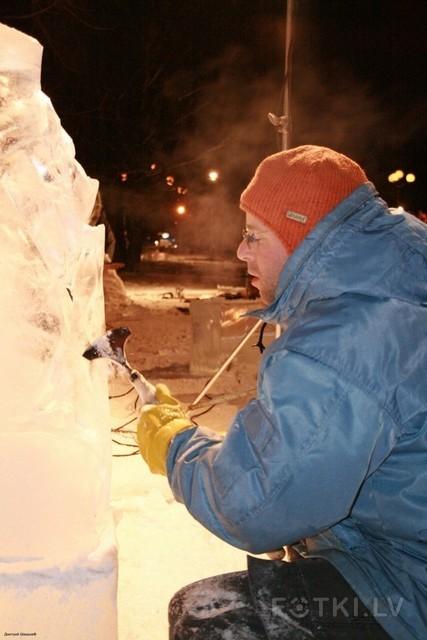 человек vs лёд