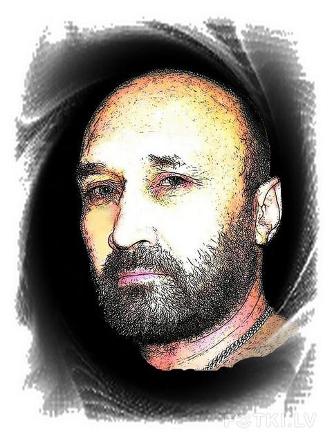 стилизованный автопортрет
