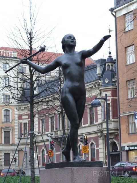 Хельсинки, скульптура