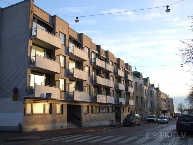 Хельсинки, жилой дом