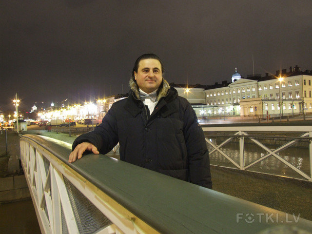 Рижский скульптор Гоча Хускивадзе