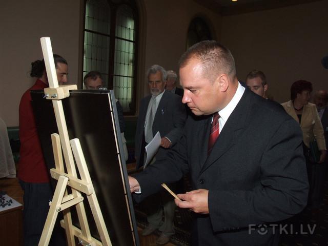 Председатель Сейма Гундарс Даудзе-2
