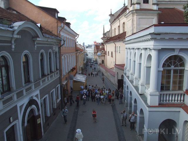 В старом Вильнюсе