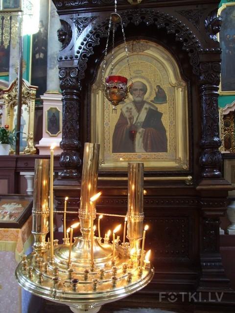 В Храме Святого Духа в старом Вильнюсе