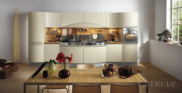 Интерьер кухни без гарнитура фото