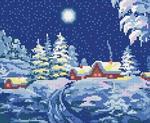 Схемы вышивок на зимнюю 191