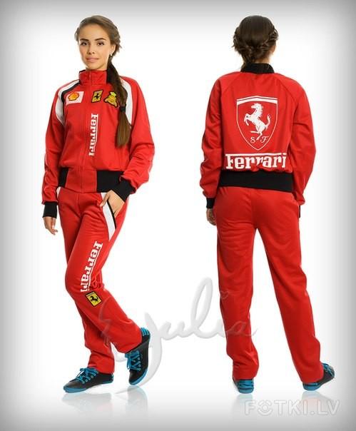 Костюм Ferrari Женский