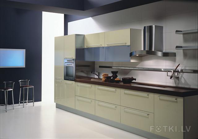 Кухня 4м в длину дизайн