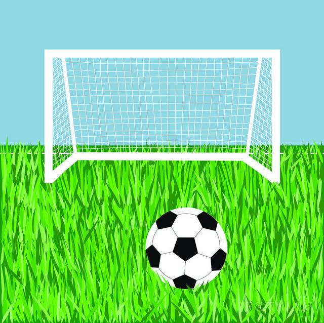 Раскраска футбольных ворот 148