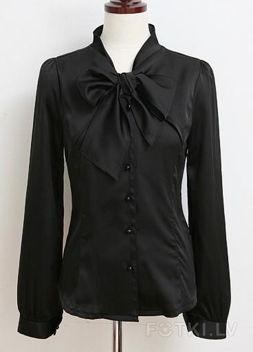 Блузка С Бантом На Шее В Спб