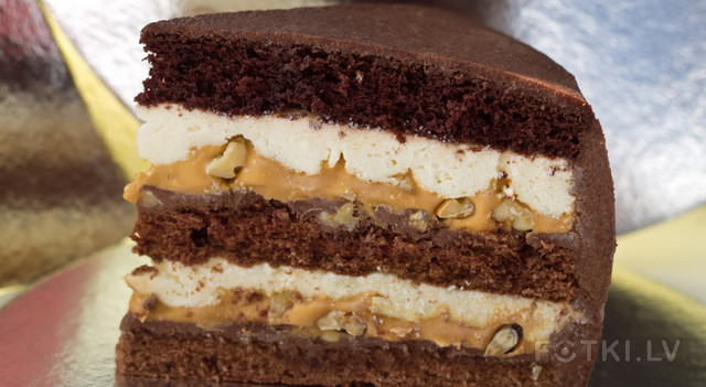 Торт сникерс с крекером рецепт с фото в домашних условиях