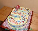 Торт на пять лет девочке своими руками 32