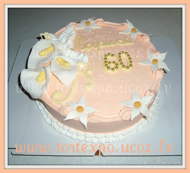 Торт своими руками на 60 лет