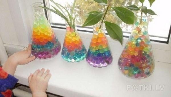 Шарики для цветов гидрогелевые как пользоваться