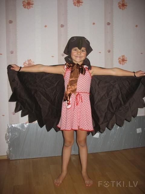 Карнавальный костюм кукушки своими руками фото