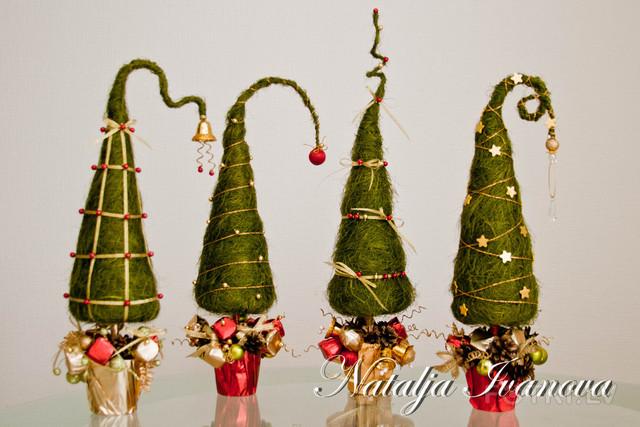 Подарки на новый год елка своими руками