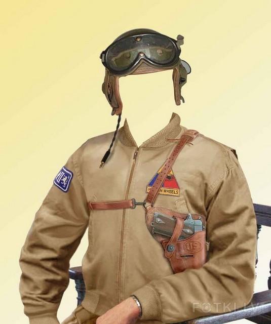 Как сделать себя в военной форме 991