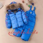 Зимние Детские Костюмы С Натуральным Мехом