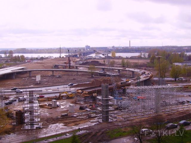 Строительство южного моста