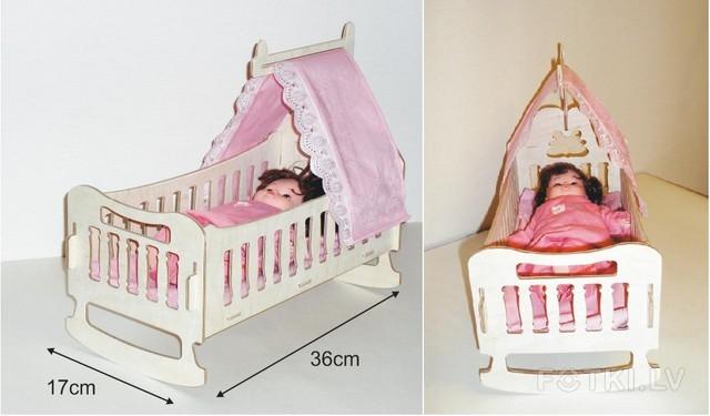 Кровать с балдахином для куклы барби своими руками 83