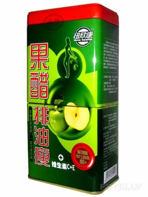 Капсулы яблочный уксус для похудения