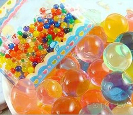 Как сделать шарики в воде растут 503