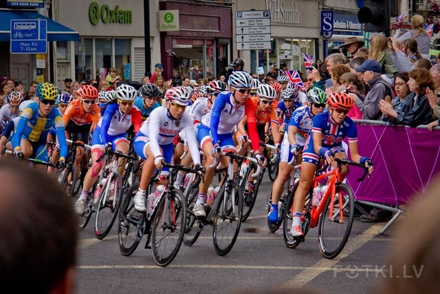 Olympics Cycling Women in Twickenham