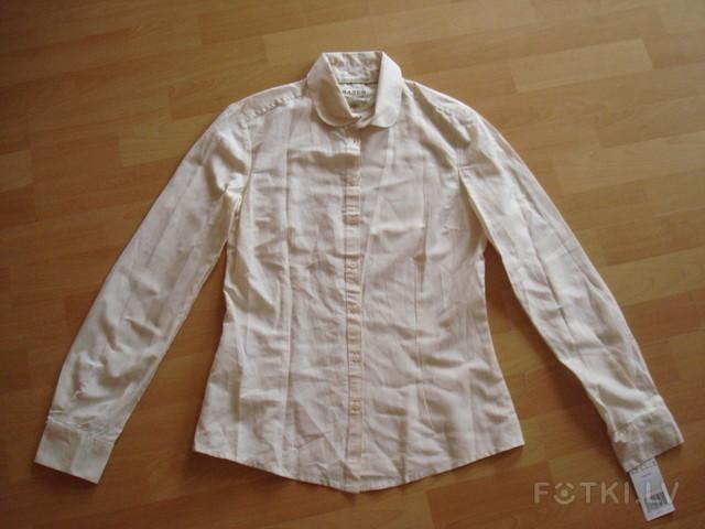 Кремовый цвет S. 60%cotton,22%modal,14%silk,Mango 5,00 Ls