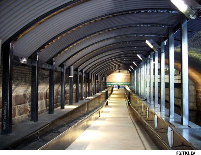 Тунель в Форум