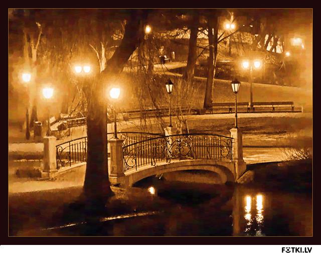 Мой самый любимый мостик в Риге