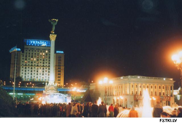 Майдан незалежностi (Площадь независимости)