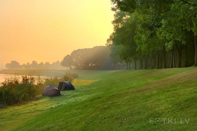 Fisherman's tent