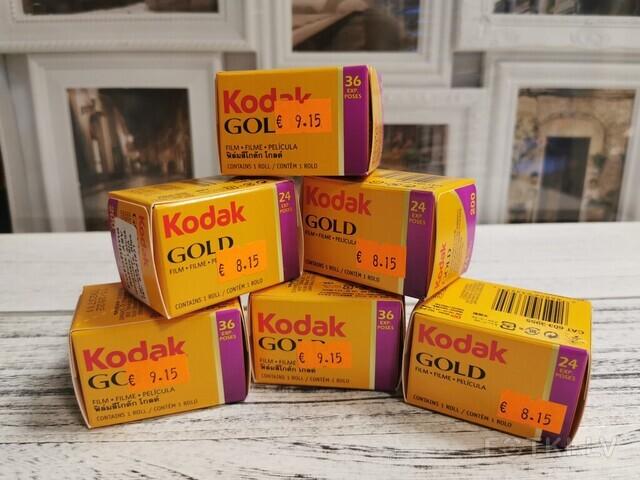 Filmiņa Kodak 200 Cena 8,15(24) 9,15(36)