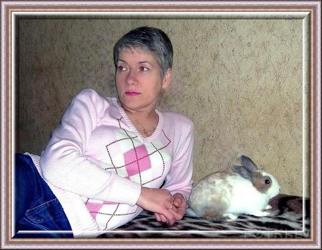 Дама с кроликом
