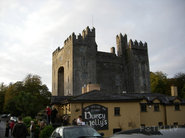 Bunratty castle & oldest pub in Ireland.