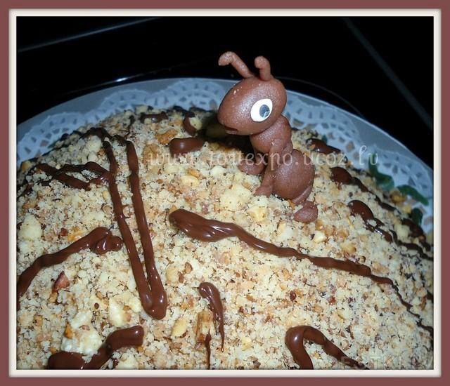 картинка торт муравей прочтения алисы стране