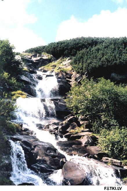 Водопад (р.Прут)