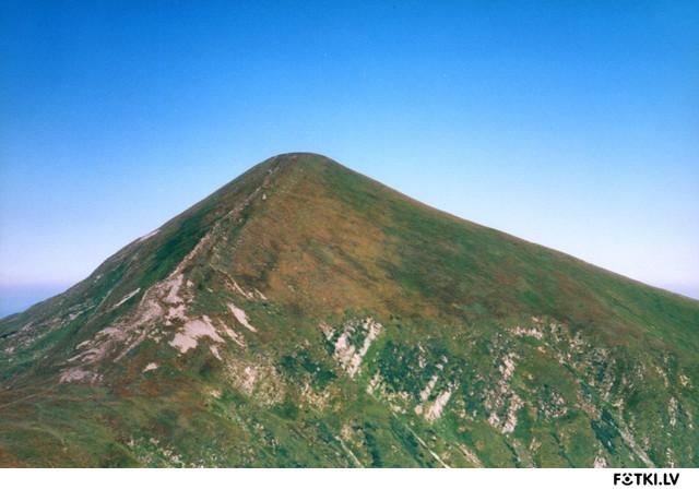 Говерла - самая высокая гора Украины