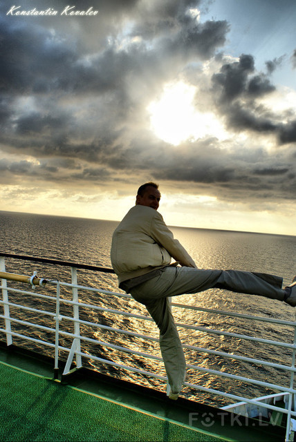 прыжок навстречу горизонту