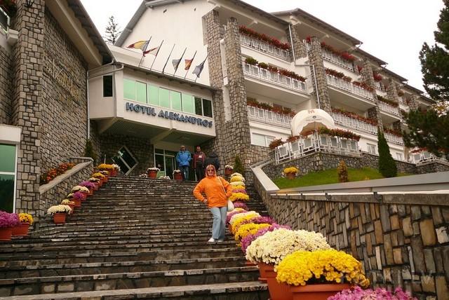 Румыния. Отель Aleksandros