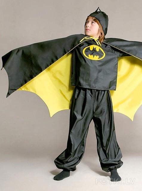 Новогодний костюм бэтмена для мальчика своими руками