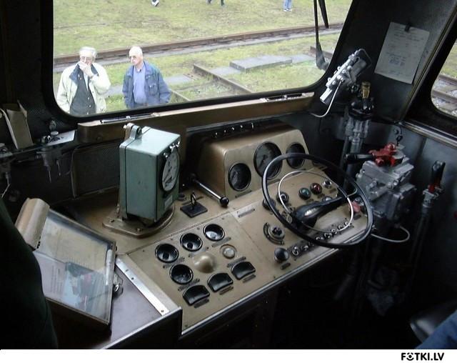 M-62 vadības kabīne