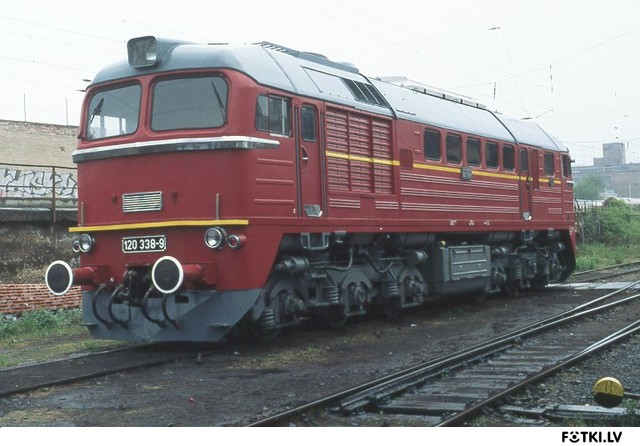 Padomju M-62 Vācijā, kur to sauc BR120