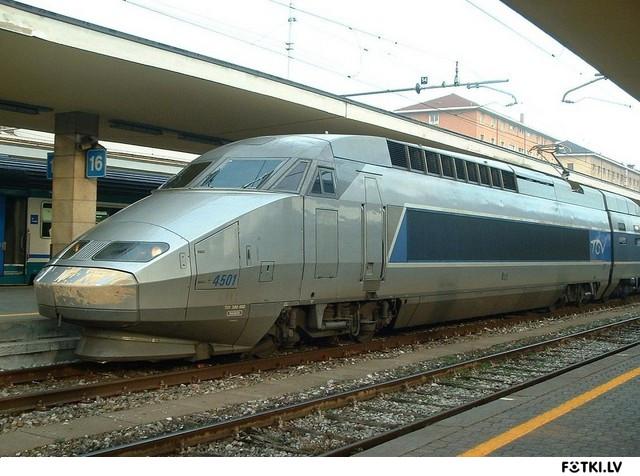 TGV vilciens Francijā