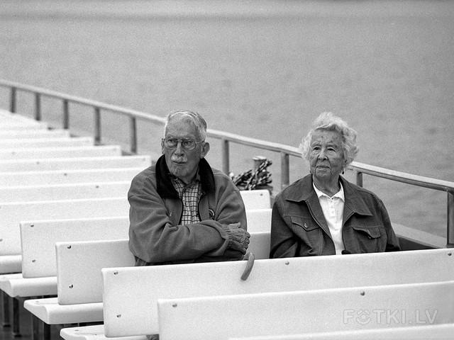 Old couple (Mamiya)