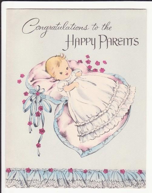 Новым, открытка к рождению девочки на английском
