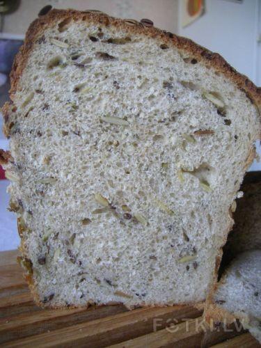 Хлеб с тыкв.семечками