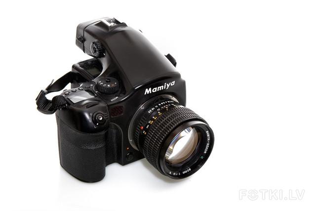 Mamiya 645AF + 80mm 1.9N